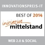 Best of 2014 initiative Mittelstand Web 2.0 & Social