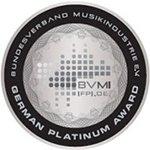 Bundesverband Musikindustrie Platin Auszeichnung